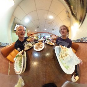 Great friends and good food. #theta360