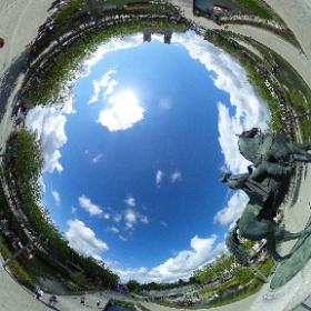 Place Napoléon la roche sur Yon #theta360 #theta360fr
