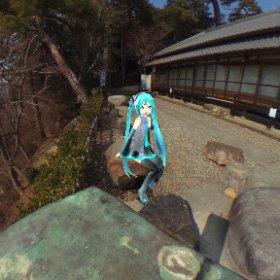 唐沢山神社 #miku360 #theta360