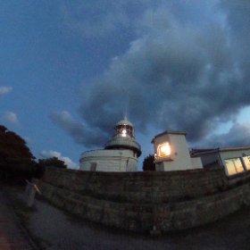 美保関灯台 島根県 VRでバイク旅 日本一周【49日目】http://www.merkurlicht.com #theta360
