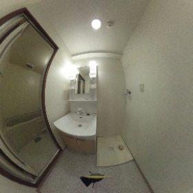 COZYオオタ301 洗面室 #theta360