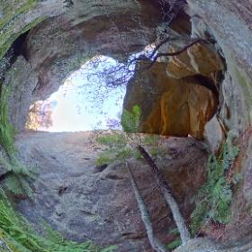 Happy Feet Canyon #theta360