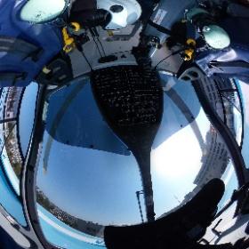#鳥取大学医学部付属病院 に配属された。 #Drヘリ の #VR 写真です! #360  #theta360