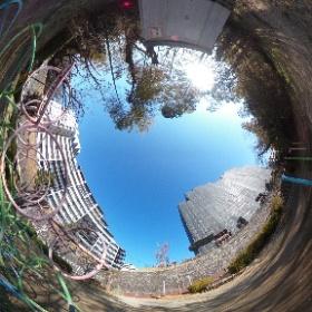 御所ヶ谷公園をTHETA Vで撮ってみました。#青ブタ