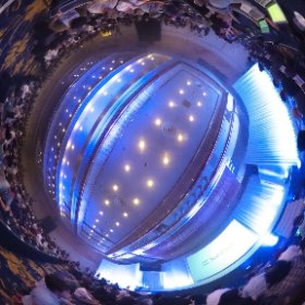 ソフトバンク発表会様子 #theta360