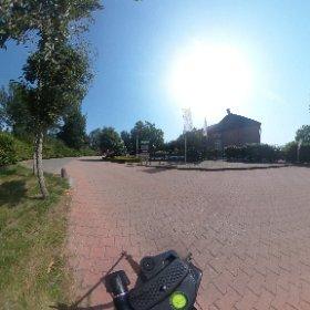 Entrance camping de Vergarde #theta360