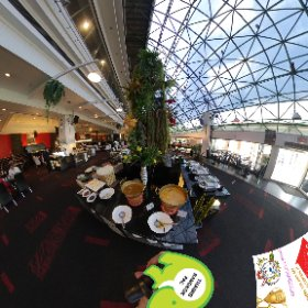 360 spherical Xmas lunch at Retro Live Caf'e 5 star buffet at caf'e prices, SM hub https://goo.gl/1mAUf1   BEST HASHTAGS  #RetroLiveCafe  Industry #Bkkdining  related #BtsAsoke  #BkkAchiever  #BpacApproved #butterfly3d #theta360