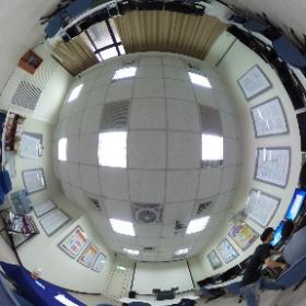 中華科技大學企業管理系 L1005研究生研究室 #theta360