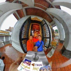 Wat Thepthidaram is an historical temple in old Bangkok city called Rat-tana-ko-sin, SM hub https://goo.gl/BSXkDh BEST HASHTAGS #WatThepthidaram  #BkkTemple   #butterfly3d