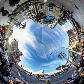 #ChaseElliot #NASCAR #burnout on the #LasVegasStrip #360degree photo from bcpix.com #ChampionsWeek  #theta360