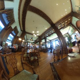 The Bengal Lounge at Empress Hotel, Victoria BC, Canada captured in 360, so look around.