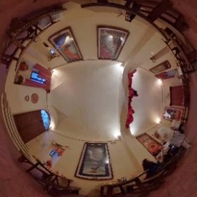 Rione Ammanniti, Foligno - Taverna, Salone dei Palii #Q4D #QuintanaFoligno #theta360
