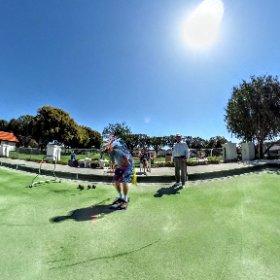 San Clemente Lawn Bowling  #theta360