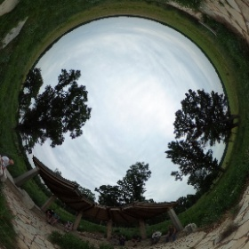 Central Illinois Entomology group meeting at Dixon Waterfowl Refuge (near Hennepin, IL) on June 20. We are gathered at the pavilion overlooking the restored prairie.  #theta360