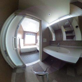 2階洗面所・ユニットバス