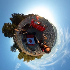 #Vancouver #Beach World. Happy Canada Day #Canada150 #theta360 #360vr #theta360