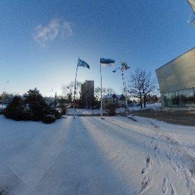 Eesti Maaülikooli Tehnikamaja. #theta360