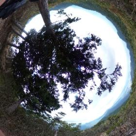 2. 節刀ヶ岳山頂にて。 #theta360