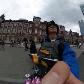 東京駅から #東北風土2016 マラソン行ってきます!これをシェアしてね!詳細はこちら http://i.ktri.ps/genkitohoku #GenkiTohoku #theta360