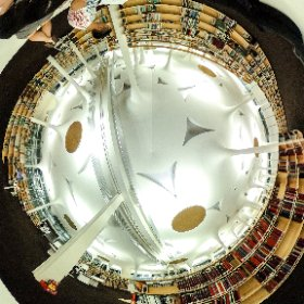 National Taiwan University College of Social Sciences by Toyo Ito, Taipei, Taiwan, #Architecture #interior #theta360