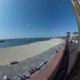 双海の海で久々にTHETA!いい天気過ぎ! #theta360