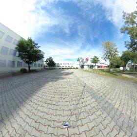 Schule Pausenhof #theta360