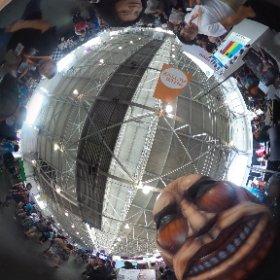 AK! #CaptureTheTitan #theta360 #JPopSummit2015 kodanshacomics.com