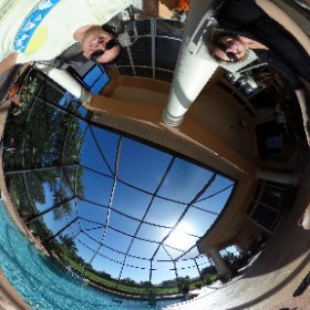 Another beautiful day in Florida!  #theta360