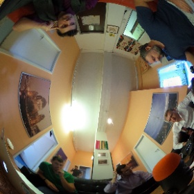 Podcasting from Berlin! @androidcentral @windowscentral #theta360