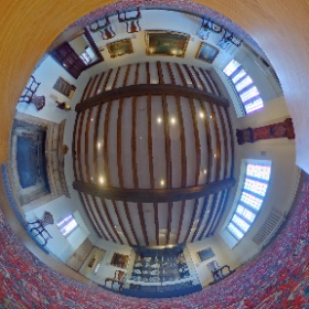 18th century room at Ashmolean Mesuem Broadway in the Cotswolds  taken 23rd October 2016. #theta360 #theta360uk
