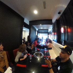 #seoulofthesouth Korean food tour with #exploregwinnett at Breakers Korean BBQ in #Duluth  #theta360