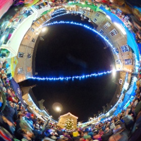 Oundle Christmas Fair 2016 #theta360