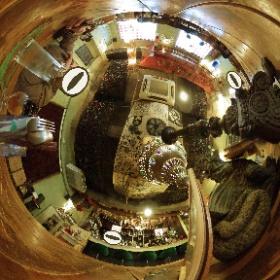 オカルティックナインの聖地巡礼、本当にあるカフェブルームーン。なかなか素敵なお店。ランチのラムと豆の焼きカレーも美味かった。#オカン #theta360