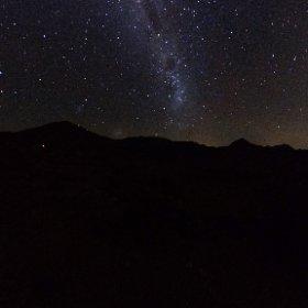皆既日食前日のVicuña (Chile)で見た天の川.