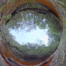 Tunnel Creek Pondage #theta360