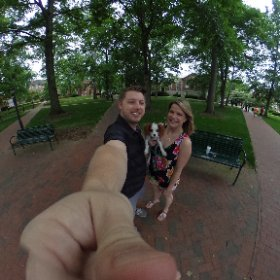 The Houser Family Hits the Bricks #theta360