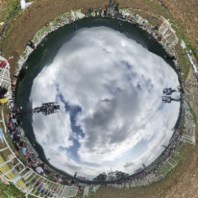 長渕剛 10万人オールナイト・ライヴ 2015 in 富士山麓オリジナルGoogleストリートビュー #theta360