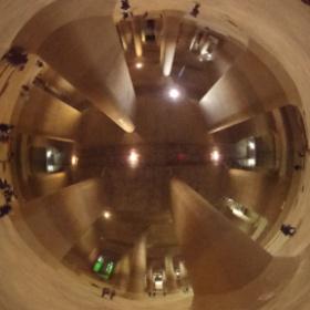 #地下神殿 こと #首都圏外郭放水路 の調圧水槽の中で #RICOH #THETA をパシャリ。#thetafan #theta360