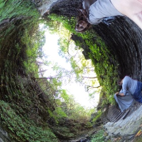 Watkings Glen State Park hike USA  #theta360