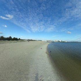 Strand in Lemmer die Anlage #bis360.de #theta360 #theta360de