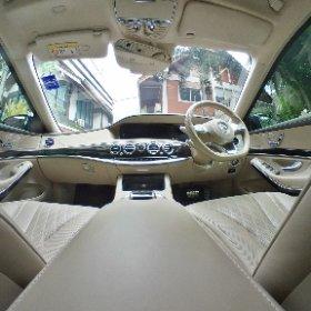 Benz S500 Interior #theta360