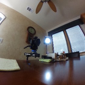 Setting up for a Realtor Tips Video #theta360