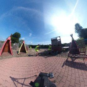 Lasergame kindercamping de Vergarde Betuwe Gelderland