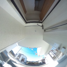 中里玄関2 #theta360