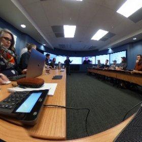 Start of VR day at UAF. @uafairbanks @AKEPSCoR #theta360