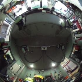 interior of #bloomington #fire truck 1 #theta360