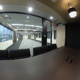 造作付きオフィス #theta360