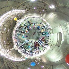 マジカルミライ 大阪 Day2に集まったみなさんでで Hand in Hand 参加していただいた皆様 ありがとうございました! #miku360 #miku_shot