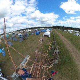 Utsikt på Jamboree17 #theta360