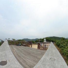 本州最西端 山口県 毘沙ノ鼻 VRでバイク旅 日本一周【47日目】 #theta360